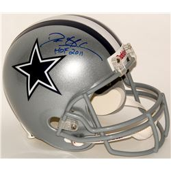 "Deion Sanders Signed Cowboys Full-Size Helmet Inscribed ""HOF 2011"" (Sanders Hologram)"
