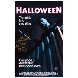 "Tony Moran Signed ""Halloween"" 11x17 Photo Inscribed ""Michael Myers H1"" (Legends COA)"