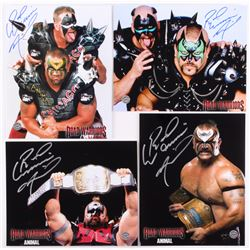 Lot of (4) Road Warrior Animal Signed 8x10 Photos (Legends COA)