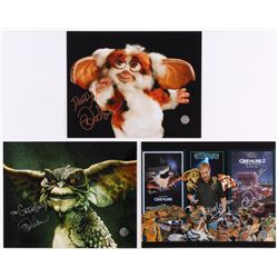 """Lot of (3) Mark Dodson Signed 8x10 Photos Inscribed """"The Gremlins!""""  """"Keep Laughin'!"""" (Legends COA)"""