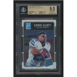2016 Donruss Optic #168 Ezekiel Elliott RR RC (BGS 9.5)