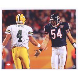 Brett Favre Signed Packers 16x20 Photo (JSA COA  Favre Hologram)