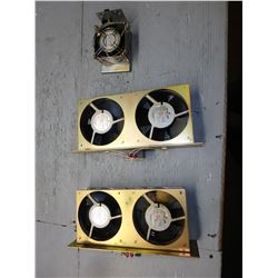 FANUC VARIOUS FAN UNITS *A06B-6078-K003 A* (LOT OF 2) *A06B-6078-K001 94B* (LOT OF 1)