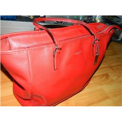 FROM ESTATE - ?COACH? PURSE - RED - as-is