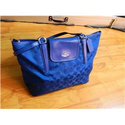 FROM ESTATE - ?COACH PURSE? - BLUE - as-is