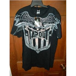"T-SHIRT - TAP OUT  - ""TAPOUT AN EXPRESSION OF COMBAT KNOWN WORLD WIDE"" - WITH EAGLE - XXL"