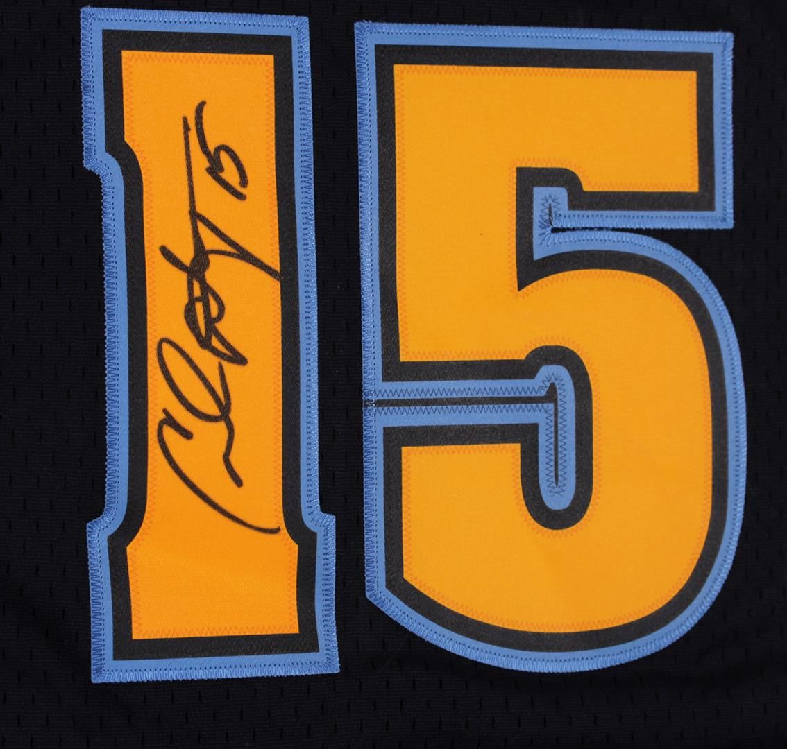 Denver Nuggets Carmelo Anthony Autographed Jersey 77900ae1e