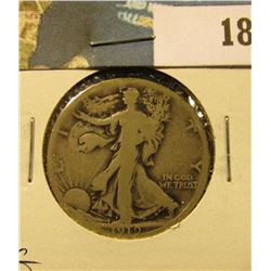 1919 S Walking Liberty Half Dollar, G.