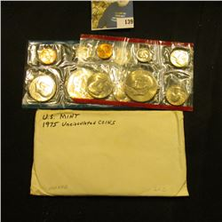 1975 U.S. Mint Set in original cellophane as issued.