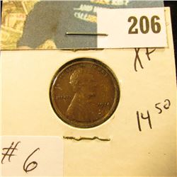 1914 Lincoln Cent - XF