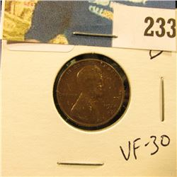 1924 D Lincoln Cent - VF 30