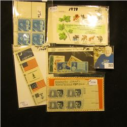Stamps - Scott #1757, CIPEX, Scott # 1113-1116 Lincoln Commems,Scott # 1345-1354 Historic Flags set,