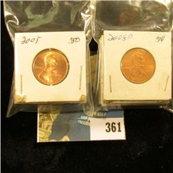 2003P, D, 2004P, D, 2005P, D, 2006D, 2007D, 2008P & D Gem BU Lincoln Cents, a few toughies in this g
