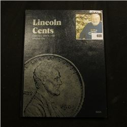 1912-40 Partial Set of Lincoln Cents in a Whitman folder. Includes 1912P, 17P, 18P, D,  & etc.