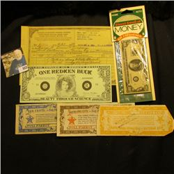 """Unopened package """"Home Auto Sweet Smell of Money Air Freshener""""; Series 1988 """"One Redken Buck Beauty"""