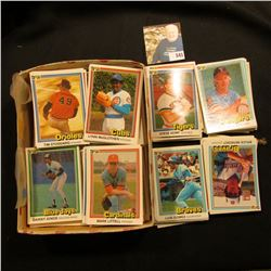 """Large group of 1981 Donruss """"First Edition Collector Series"""" Baseball Cards. Must be 200-300 cards i"""