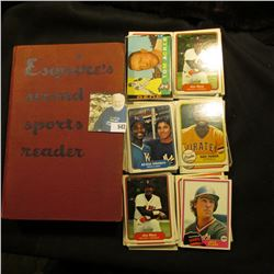 """Copyright 1946 By Esquire, Inc. hardbound book """"Esquire's second sports reader"""", 427 pgs.; & a large"""