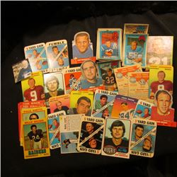 """Interesting group of Old Sports Cards including """"Wonder Bread"""" Cards, Bazooka Ball Cards, & 3-D Supe"""