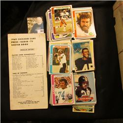 1969 Chicago Cubs Press.Radio.TV Roster Book; and a large group of mixed Sports Cards.