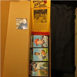 """14"""" Card Stock Box about 1/4 full of 1971 Topps Baseball Cards; & 1941 Nineteenth Edition """"The Baseb"""