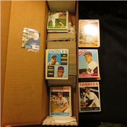 "14"" Card Stock Box over half full of 1959-69 Topps."