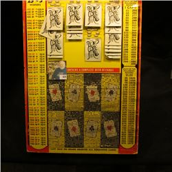 """Heavy Punch Card Game measuring 12.5"""" x 18"""" x 7/8"""". """"Every Card a Winner Card Game"""", """"Jackpot Contai"""