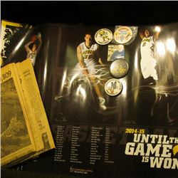 (7) Iowa Hawkeye Posters; 1956 Los Angeles Times Newspaper with Rose Bowl Article; & (4) Different 1
