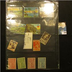 """Group of 1920-40 era """"American Olympic Committee"""" or """"Olympic"""" Stamps; and a large group of 1932 Los"""
