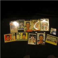 (10) Old Baseball Cards, which 'Doc' thought were worth about $200. Includes Pete Runnels, Frank Cam