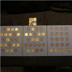 1939-74 Partial Set of Jefferson Nickels. Includes (1) Silver War Nickel. Stored in a blue Whitman f