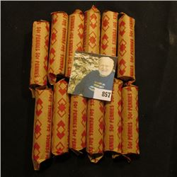 (12) Mixed date rolls of old U.S. Wheat Cents, which I did not have time to check for dates.