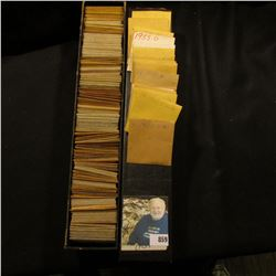 """12"""" Two by Two Stock box full of 1952-55 High grade Lincoln Cents of which many are in manilla envel"""