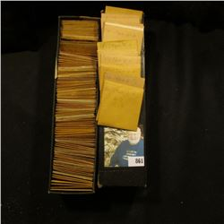 """8"""" Two by Two Stock box full of 1960 variety High grade Lincoln Cents which many are in manilla enve"""