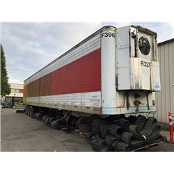 1991 FRUEHAUF 53FT TRAILER, WHITE VIN # 1H2R05337NY003410
