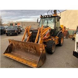2009 CASE 590 SUPER MT, SERIES 3 BACKHOE
