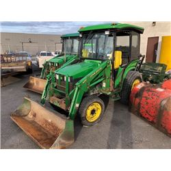 2004 JOHN DEERE 420 LOADER 2154 HOURS