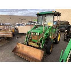 2004 JOHN DEERE 420 LOADER 3642 HOURS
