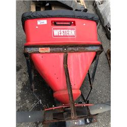 WESTERN PRO-FLO REAR MOUNTED SALT SPREADER