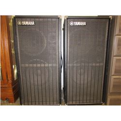 2 YAMAHA MODEL S0112T SPEAKERS SYSTEM