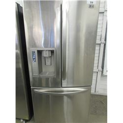 "LG STAINLESS STEEL FRIDGE WITH WATER & ICE DISPENSER MODEL LFX23965ST (33""W X 34""D X 69.5""H)"