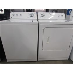 "MATCHING WHIRLPOOL ULTIMATE CARE 2 WASHER & DRYER UNITS (27""W X 25.5""D X 43""H)"