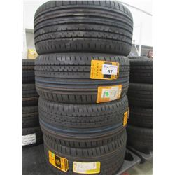 4 NEW CONTINENTAL 275/40R19 TIRES