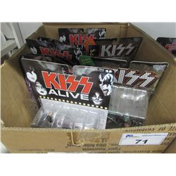 8 NEW KISS COLLECTIBLE ACTION FIGURES