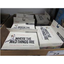 6 NEW WHERE THE WILD THINGS ARE COLLECTIBLE MCFARLANE TOYS