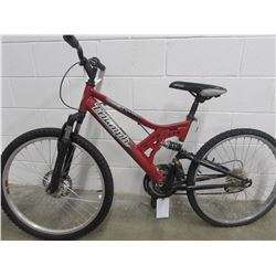 RED TRIUMPH CHALLENGER MOUNTAIN BIKE