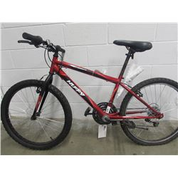 RED HUFFY MOUNTAIN BIKE