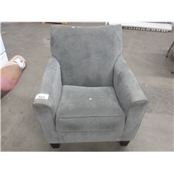 GREY CLOTH CHAIR