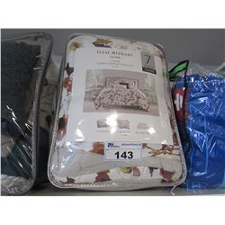 ISAAC MIZRAHI HOME QUEEN SIZE BED SET