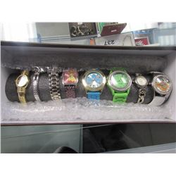 8 ASSORTED WATCHES