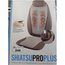 HOMEDICS SHIATSU PRO PLUS MASSAGE CUSHION WITH HEAT